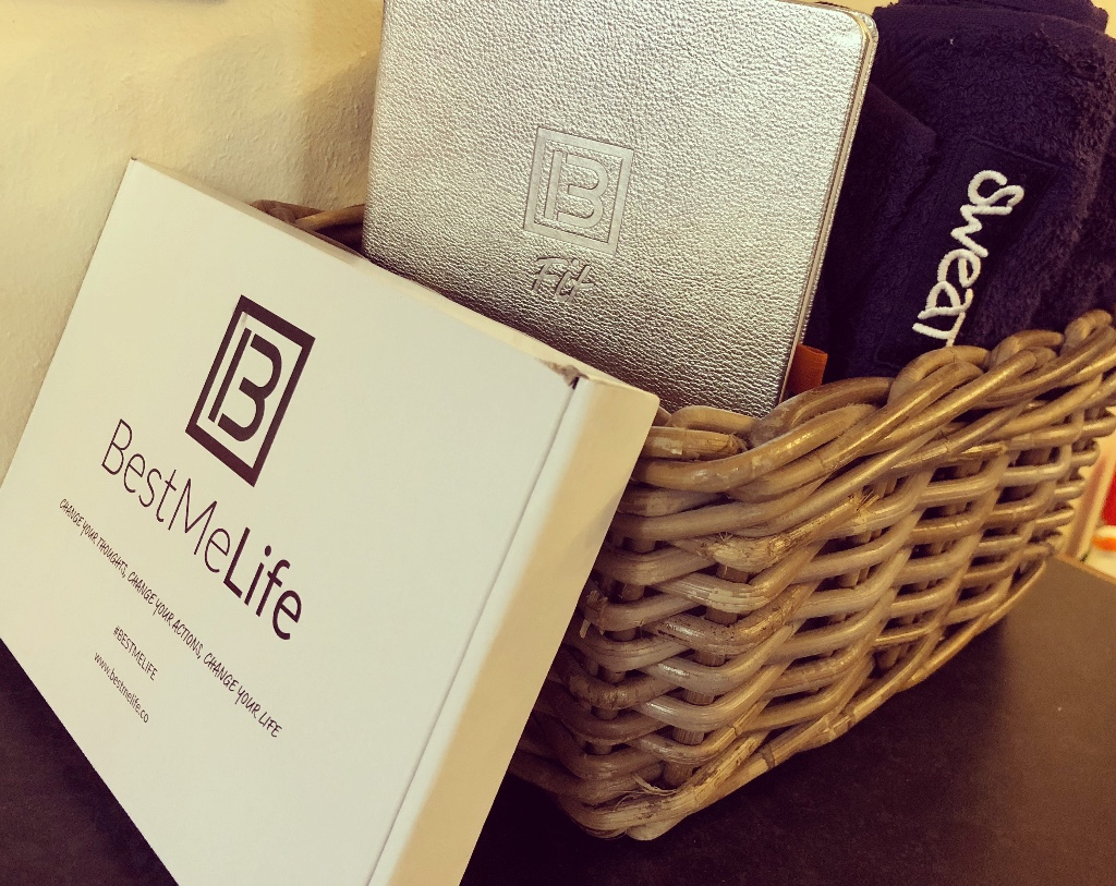 BestMe Life journals are available now at SWEAT Southsea