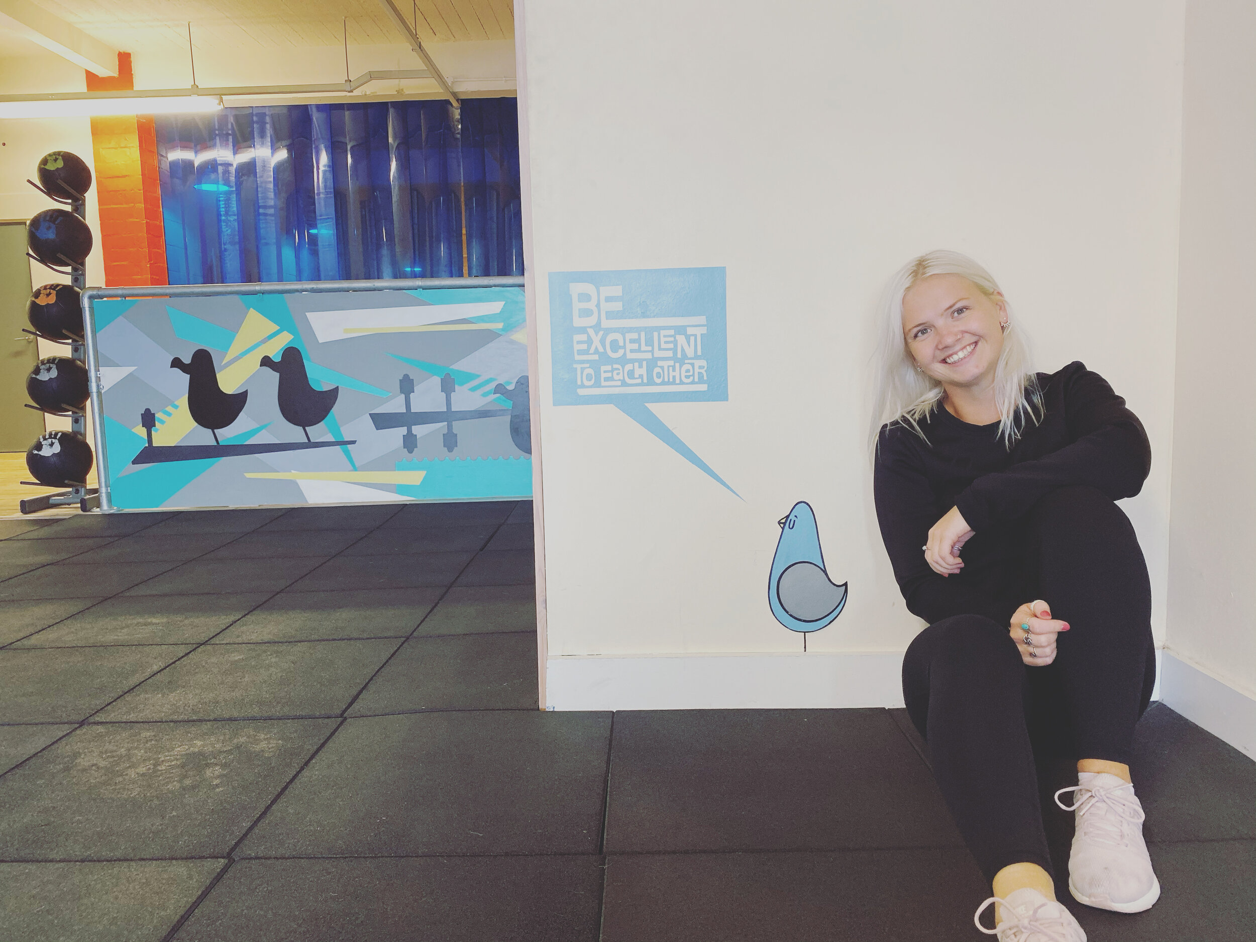 Personal Trainer and Fitness Instructor, Georgie