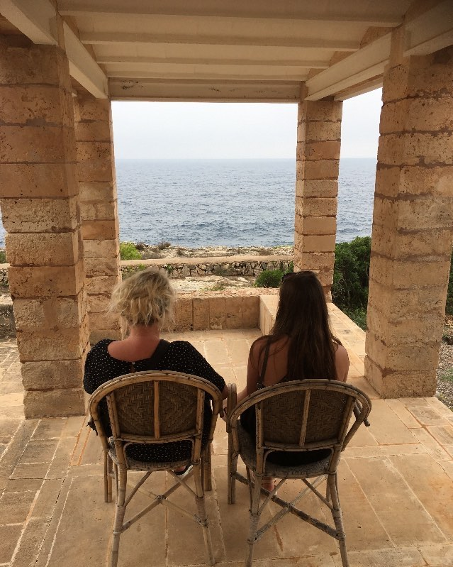Magnificent View ... From the home of Jørn Utzon In Mallorca🌻 #canlis #spiritual #beautiful #moment