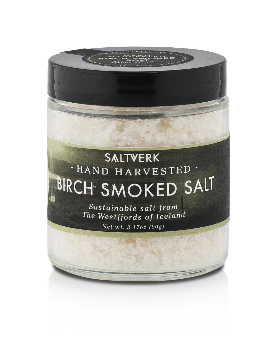 Birch Smoked Salt - $13