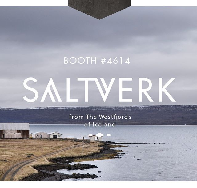 We are exhibiting at the Summer Fancy Food Show taking place at the Javits center. . If you are in town please drop by to hear some fun stories of salt making in Iceland and maybe try out some sweets made with our beautiful salt. . #saltverk #sustainable #tradeshow #usa