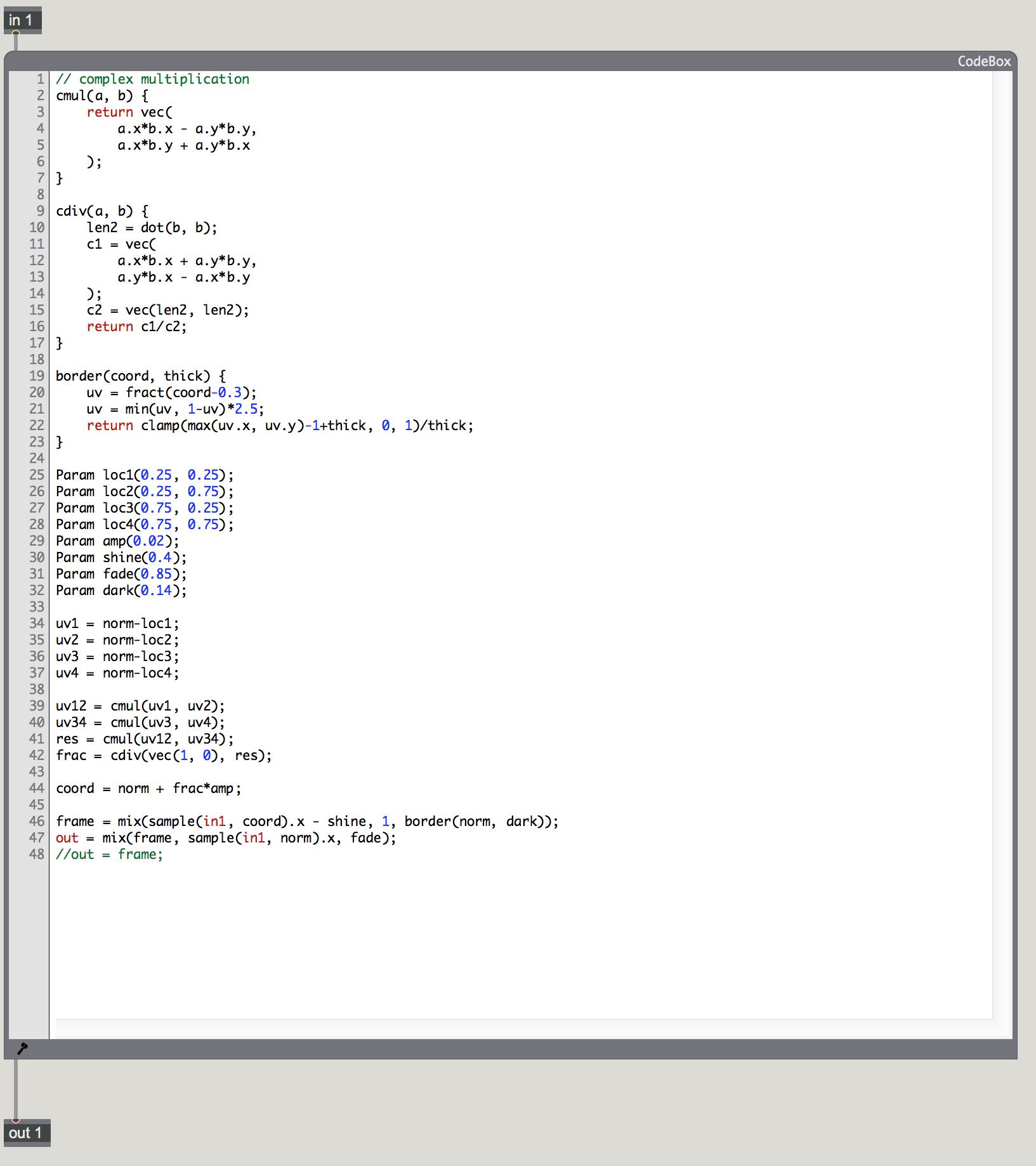 Programming For Artists II — Danny Keig