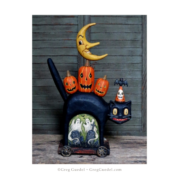 Greg Guedel ~ Frightful Night Halloween carving.JPG