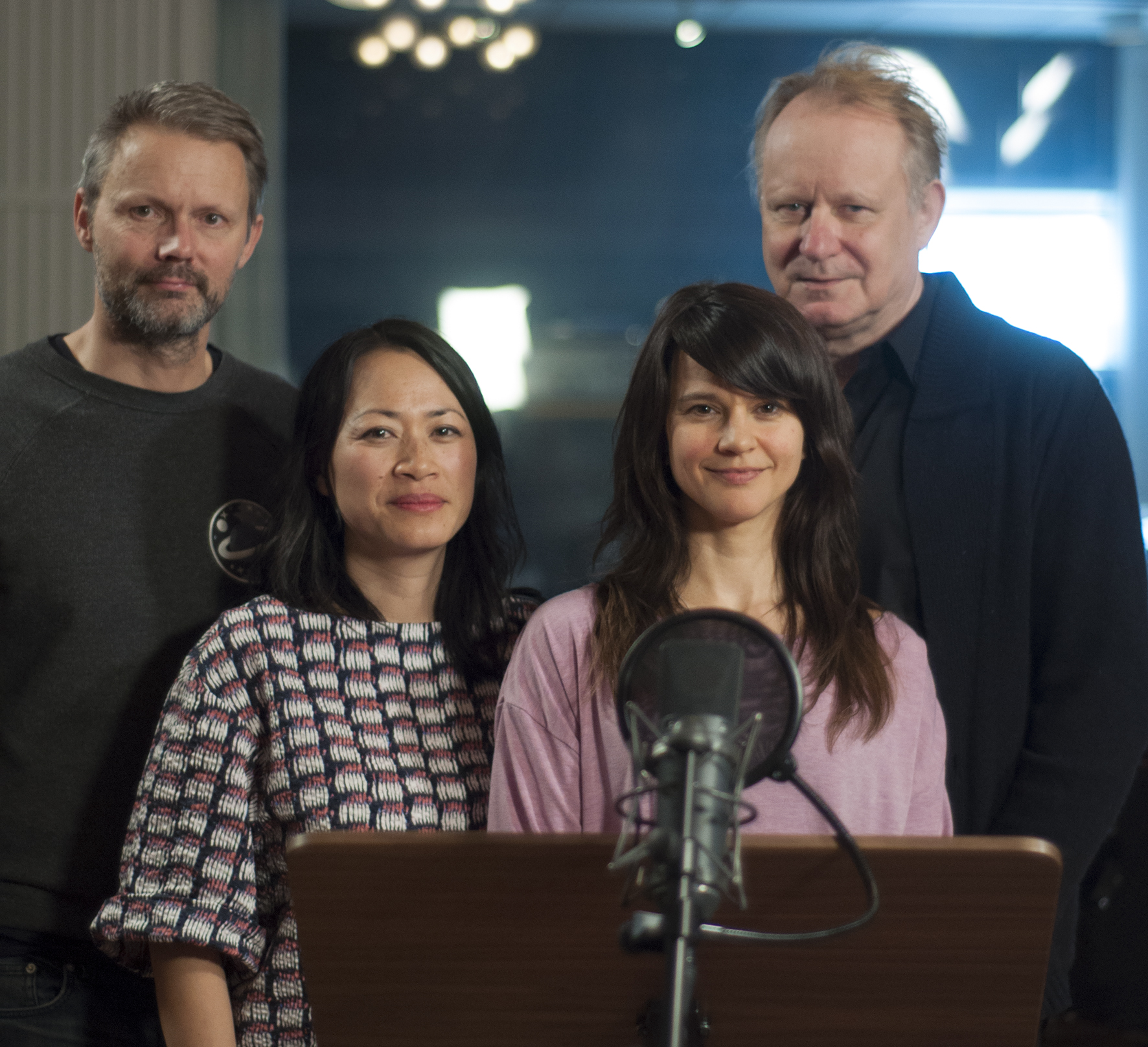 Stellan Skarsgård, Melinda Kinnaman och Felix Herngren will do the main characters in Linda Hambäcks new feature GORDON AND PADDY!