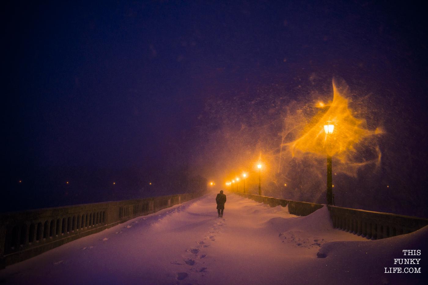 New York in Blizzard
