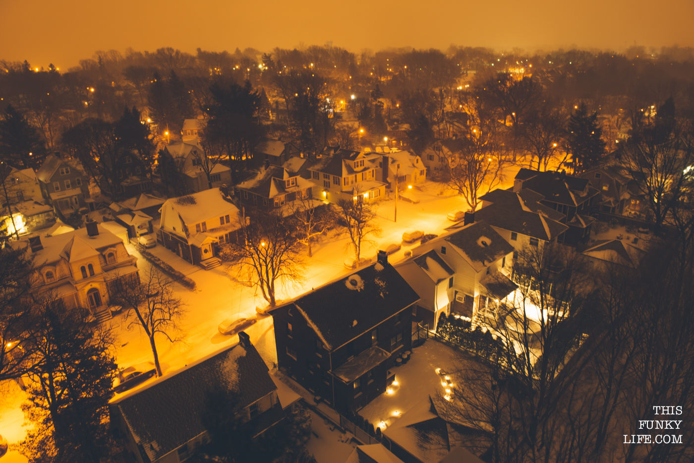 Staten Island, New York, Covered in Snow