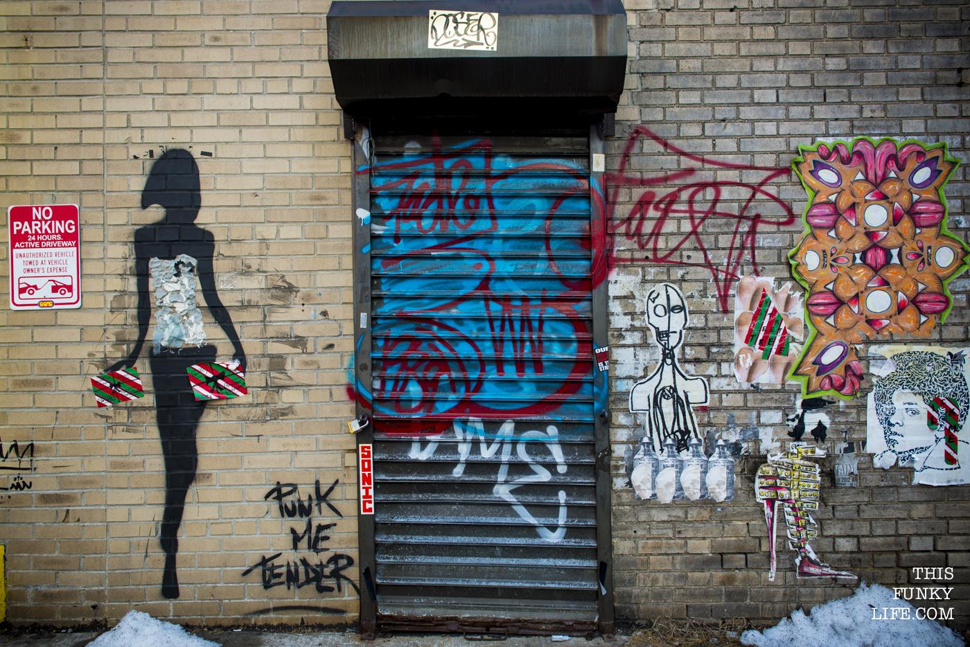 Street side graffiti
