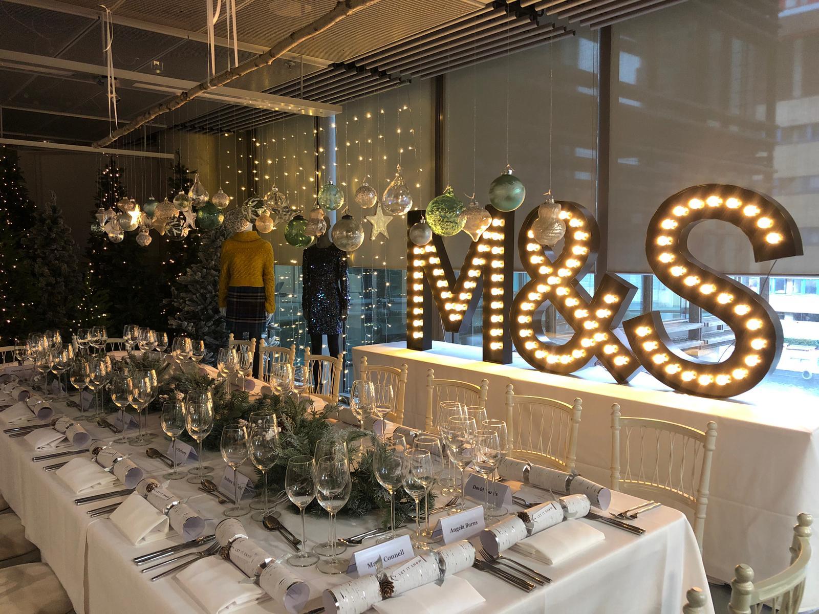 M&S Corporate Xmas Event