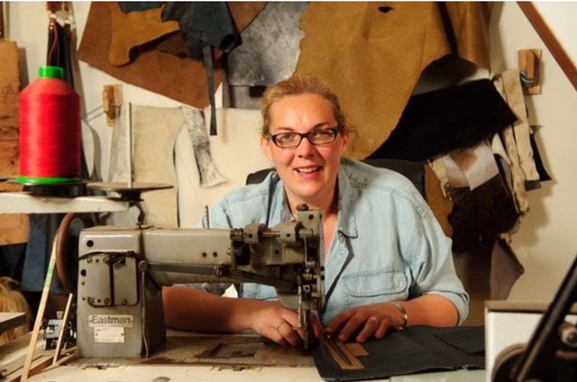 Hayley designs all her luxury leather products, which are produced from high quality, sustainable Welsh leather.