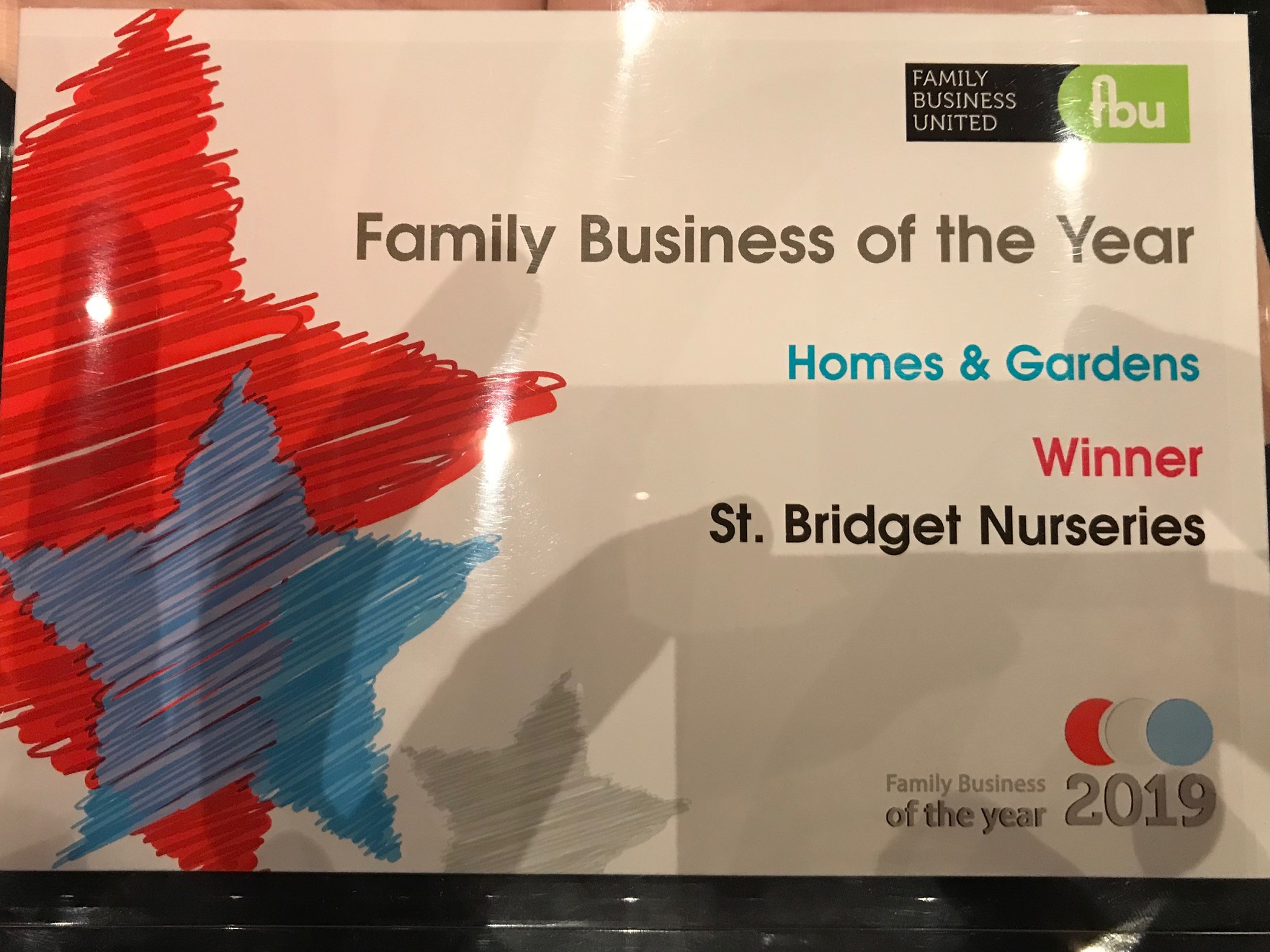 Homes & Gardens Family Business of the Year award.jpg