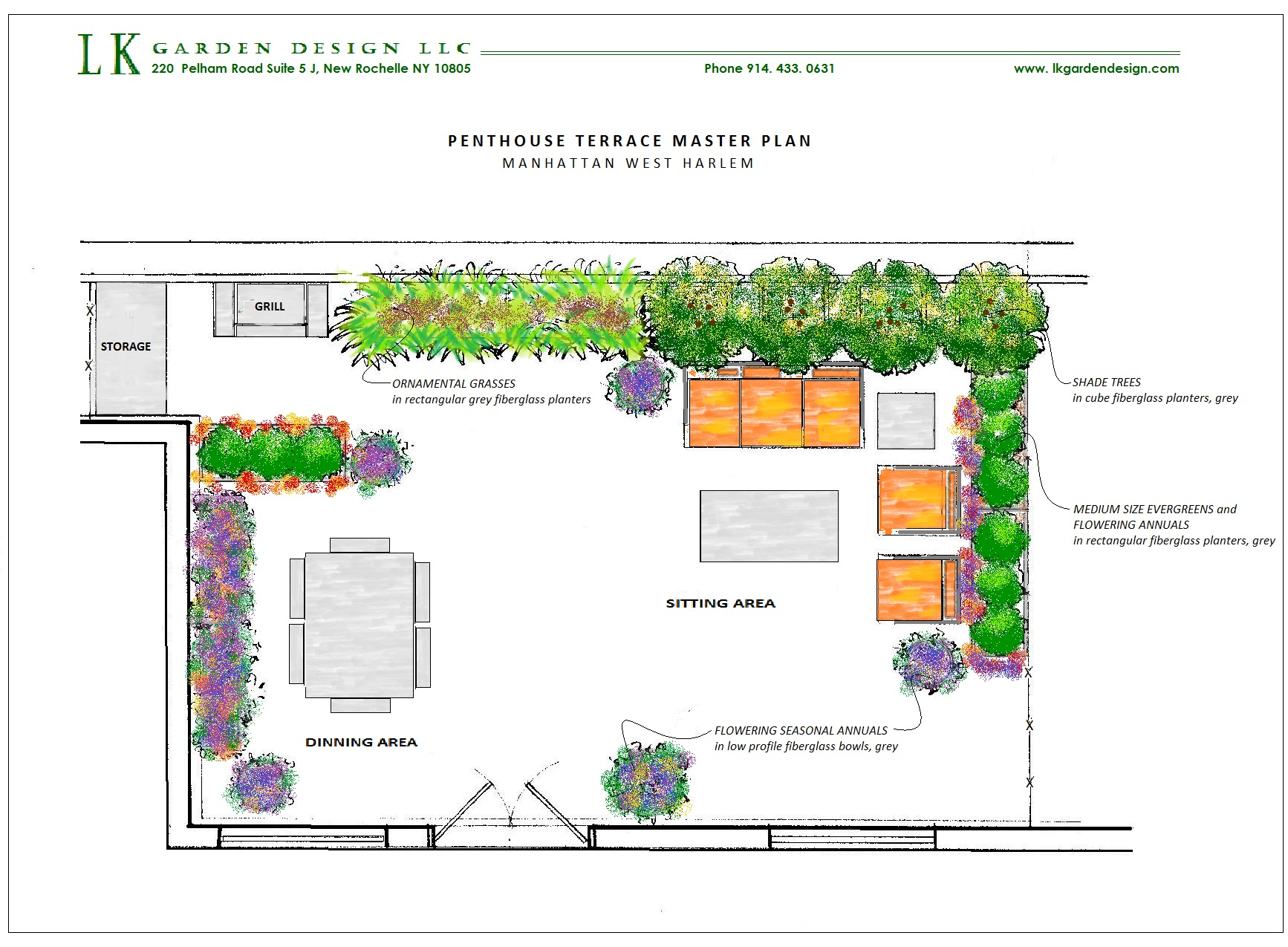 L K Garden Design LLC-Work