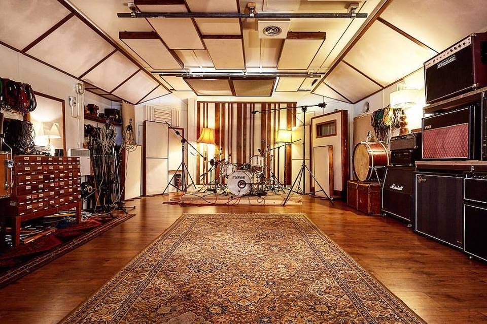 Lightship 95 studio live room, photograph by  @janklos_photo