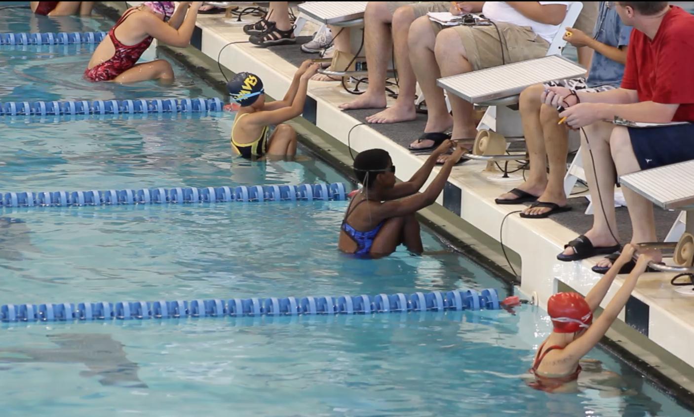 Swimming teaches discipline