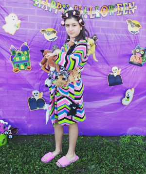 Crazy Cat Lady Lily Snell captures 1st Place in the ESA Halloween Meet costume competition for the second year in a row.  Oct2018
