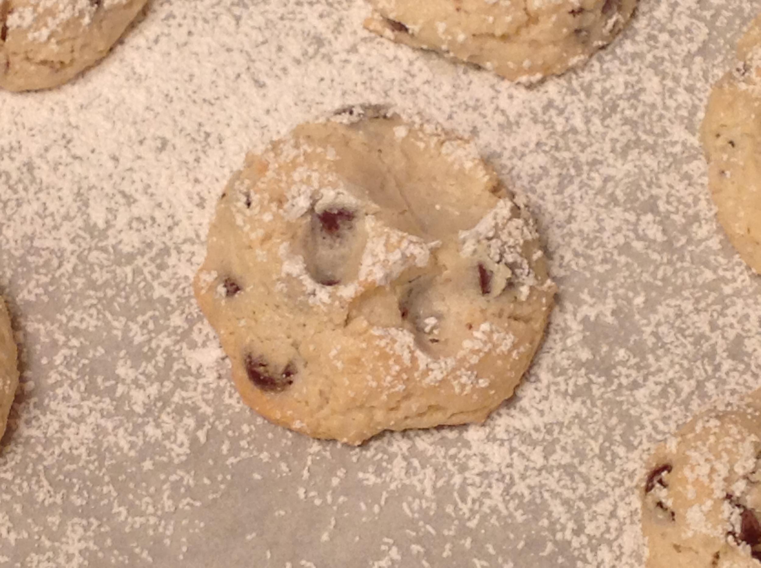 Almond Cloud cookie
