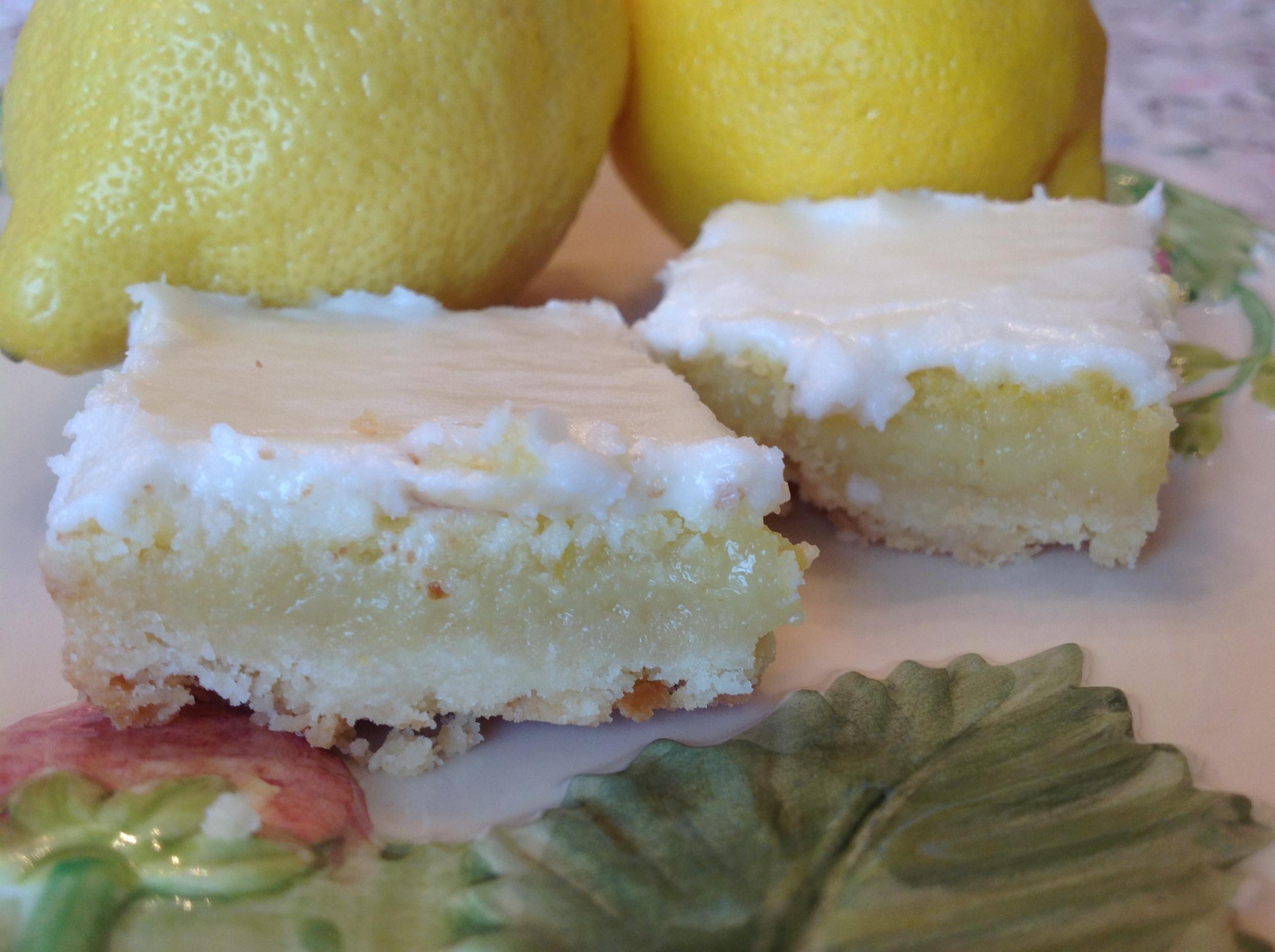 Mmmmm ... Lemon Squares