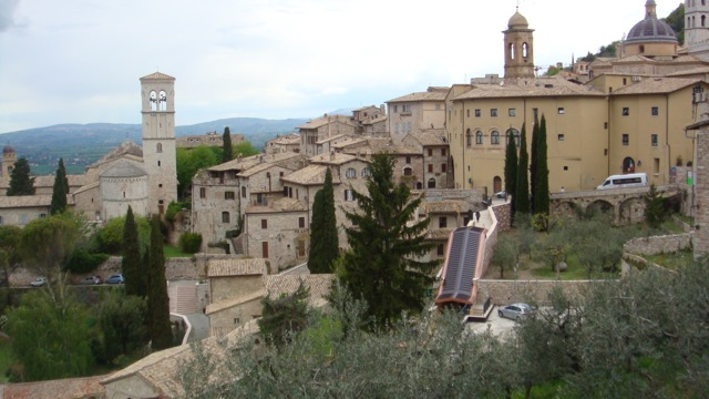 Assisi, Italy. Photo courtesy of my sister, April Brozek.
