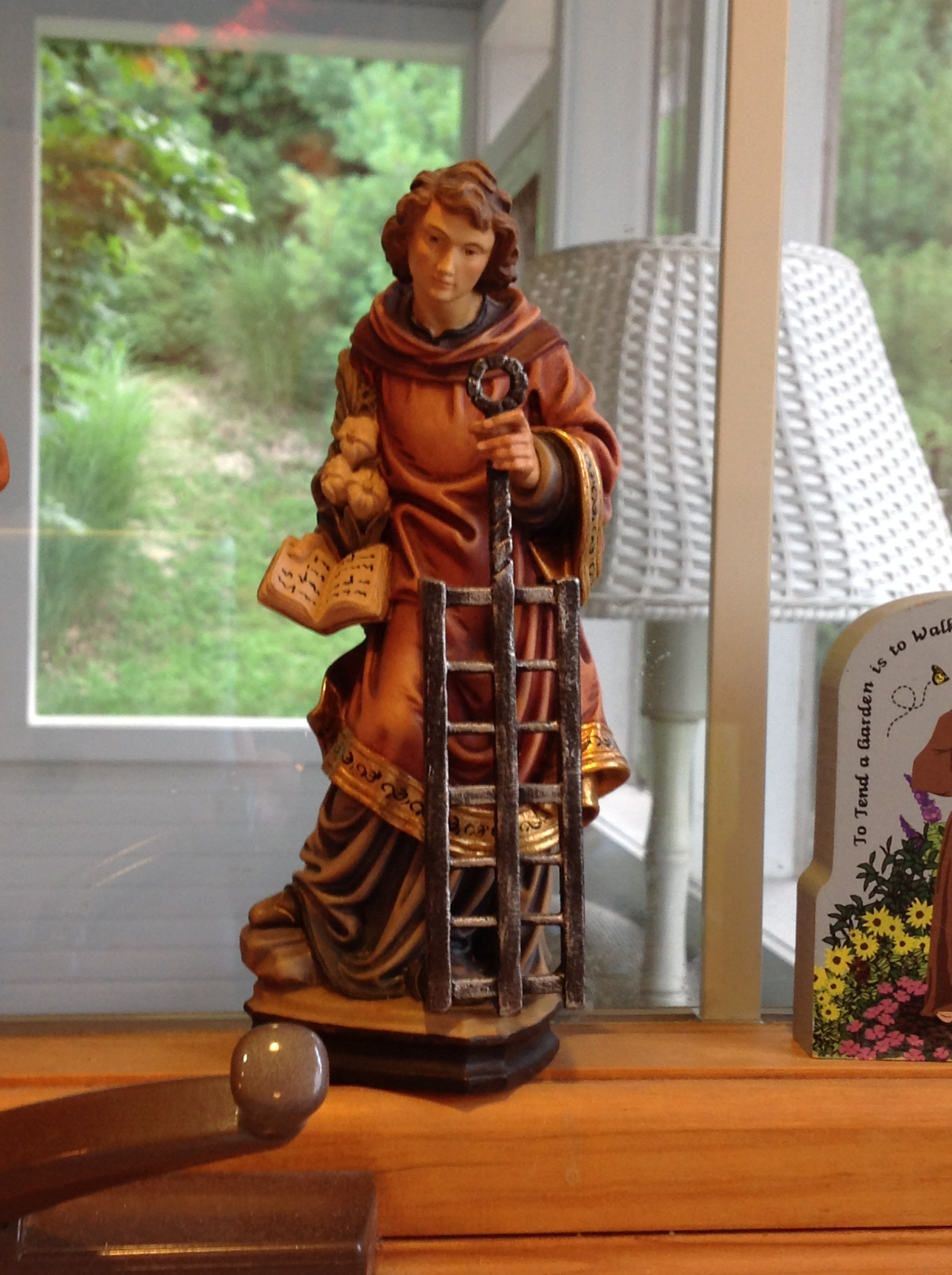 St. Lawrence, the patron saint of cooks