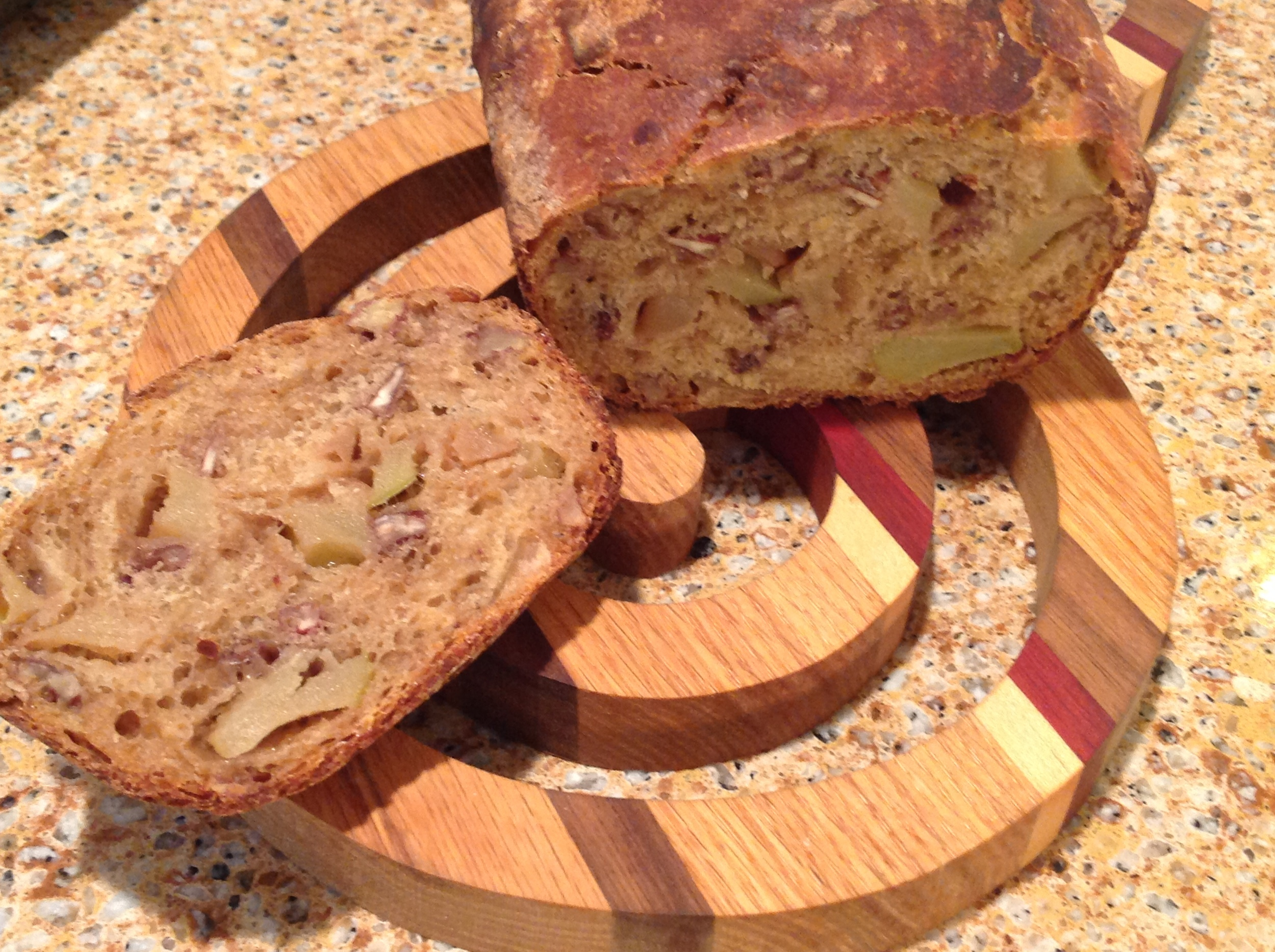 Roasted Apple Bread