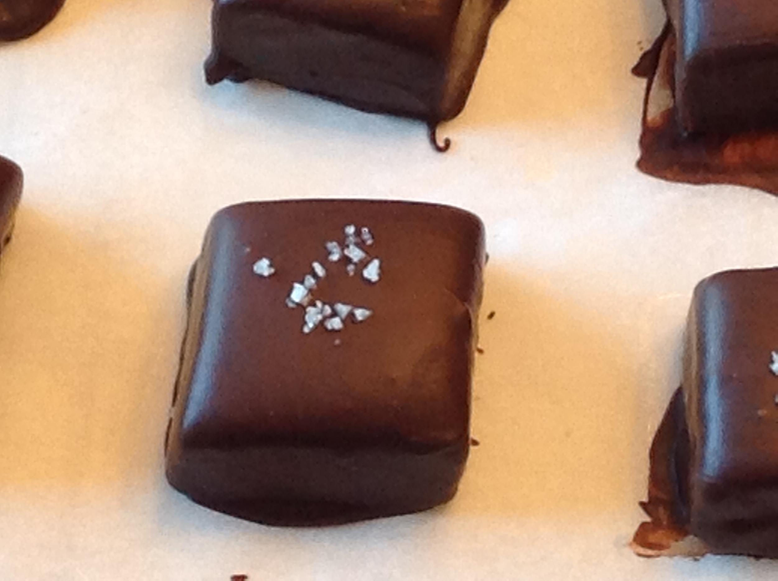 Chocolate Coated Sea Salt Caramel