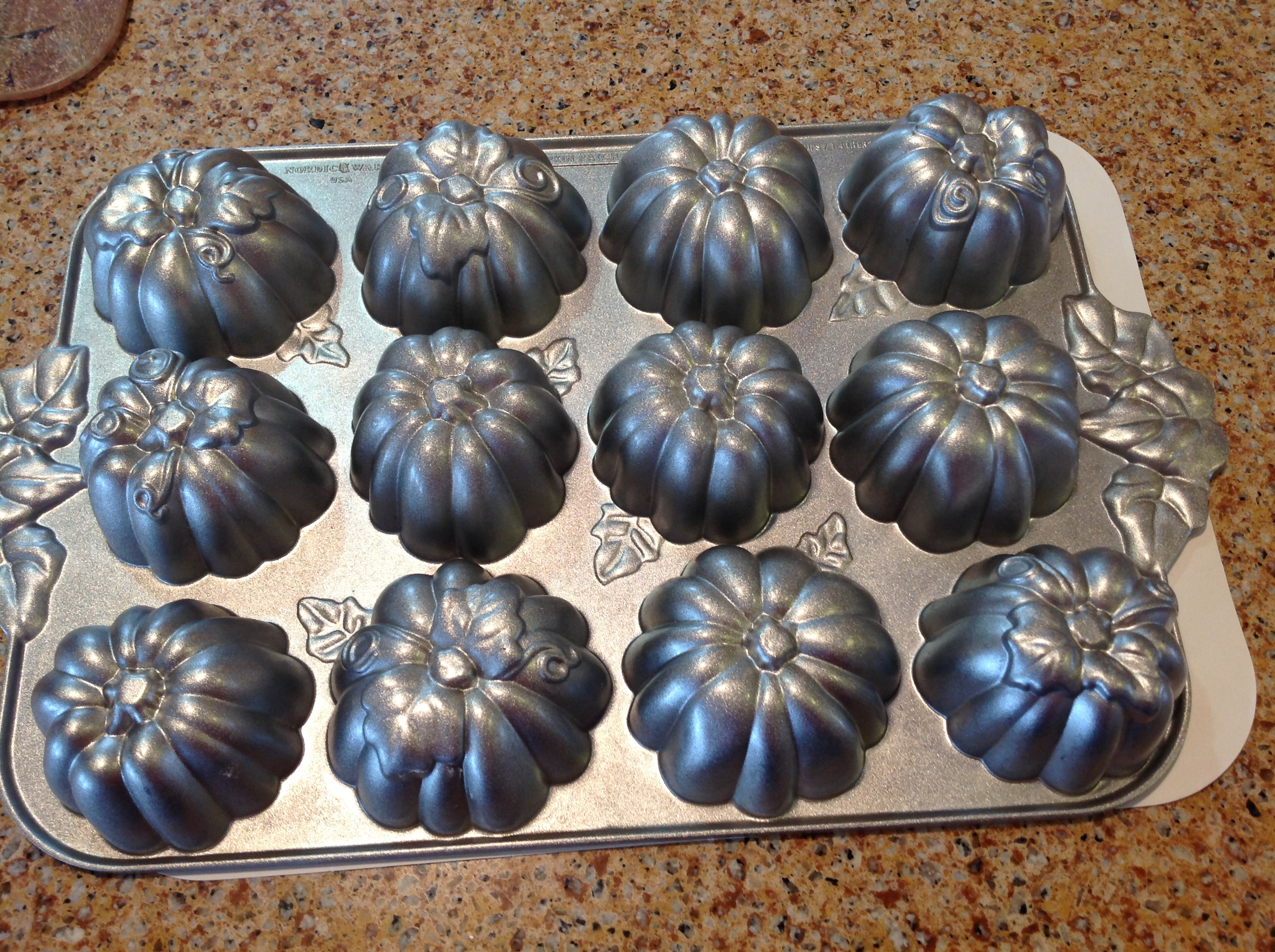 Pumpkin Muffin Pan by NordicWare