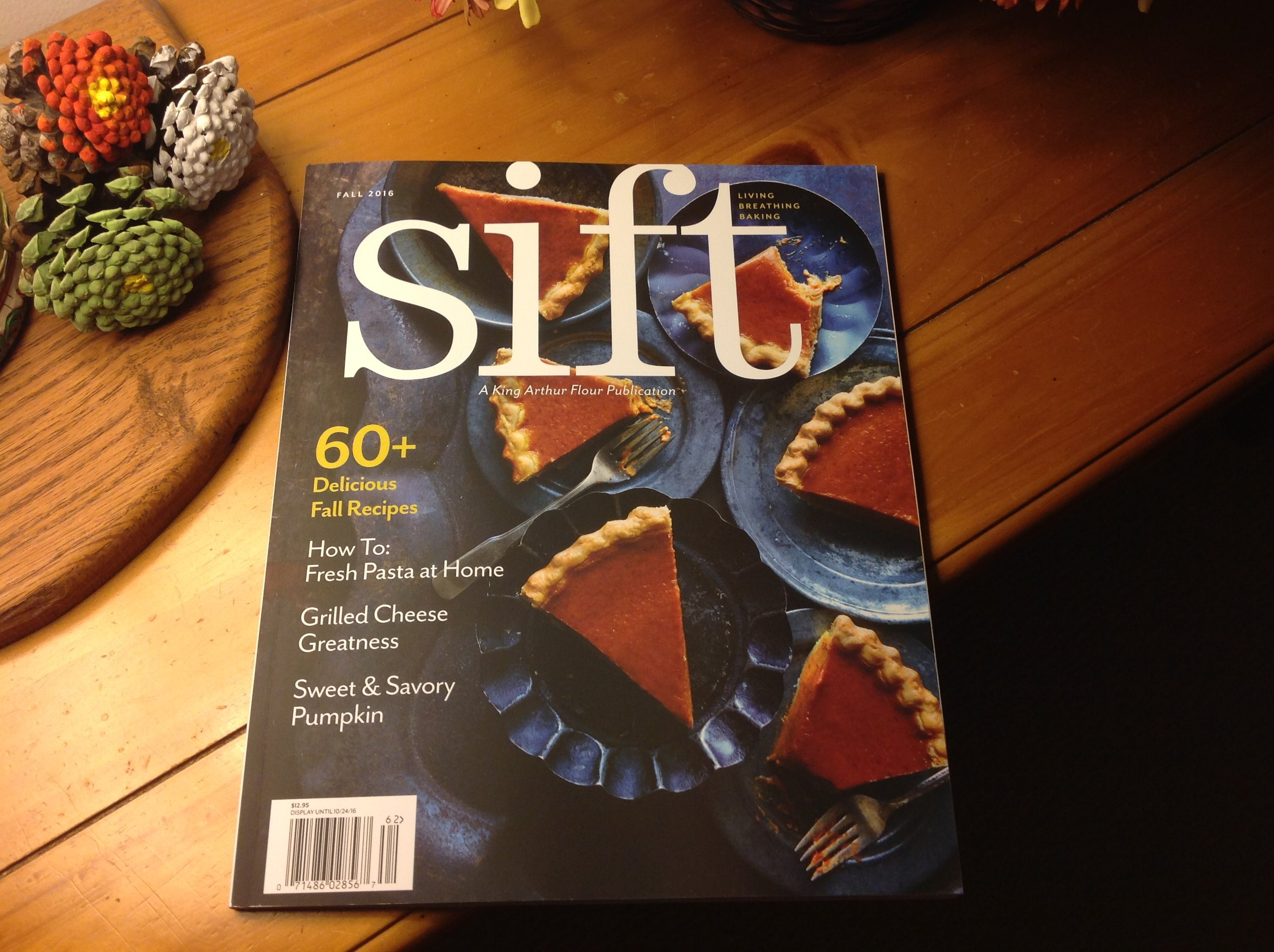 King Arthur Flour's Fall 2016 Edition of Sift Magazine