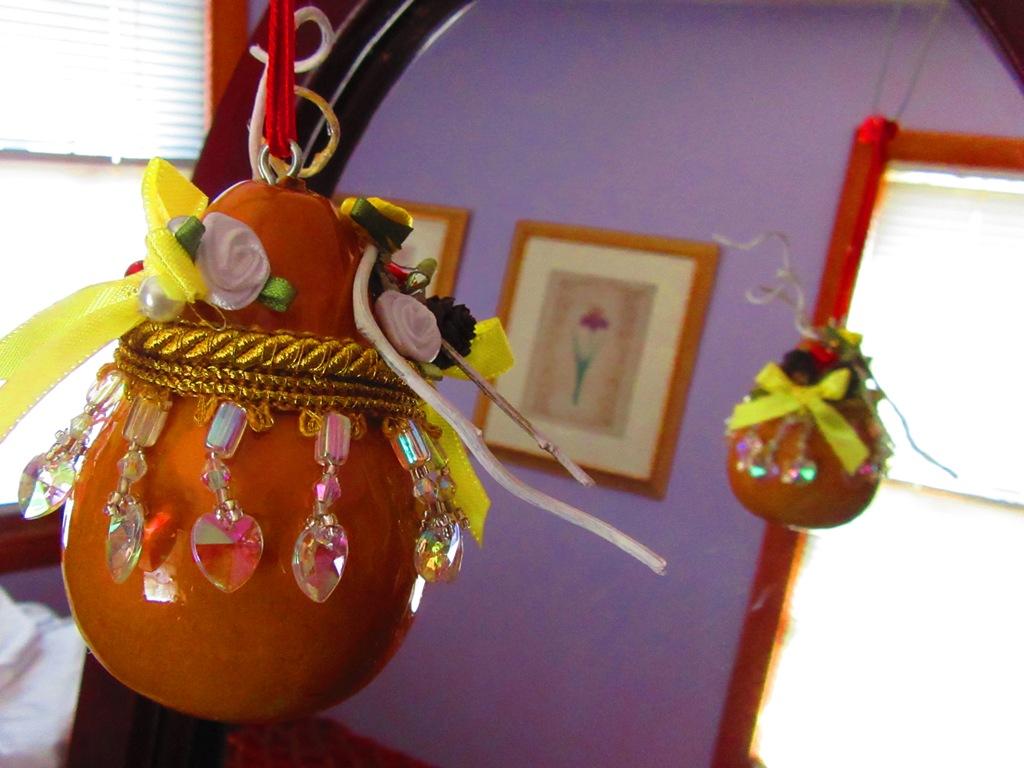 spring ornament gourd