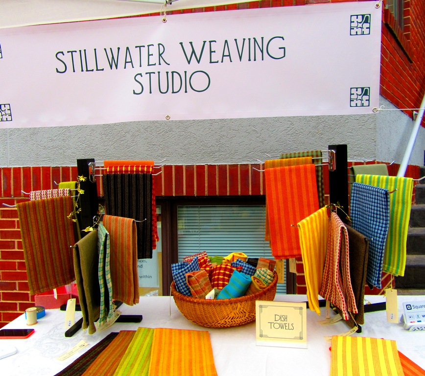 Stillwater Weaving Studio; visit at www.stillwaterstudio.org