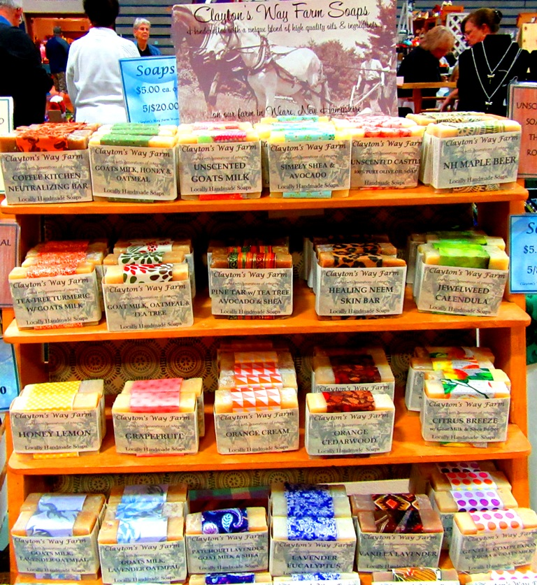 Clayton's Way Farm soaps #2