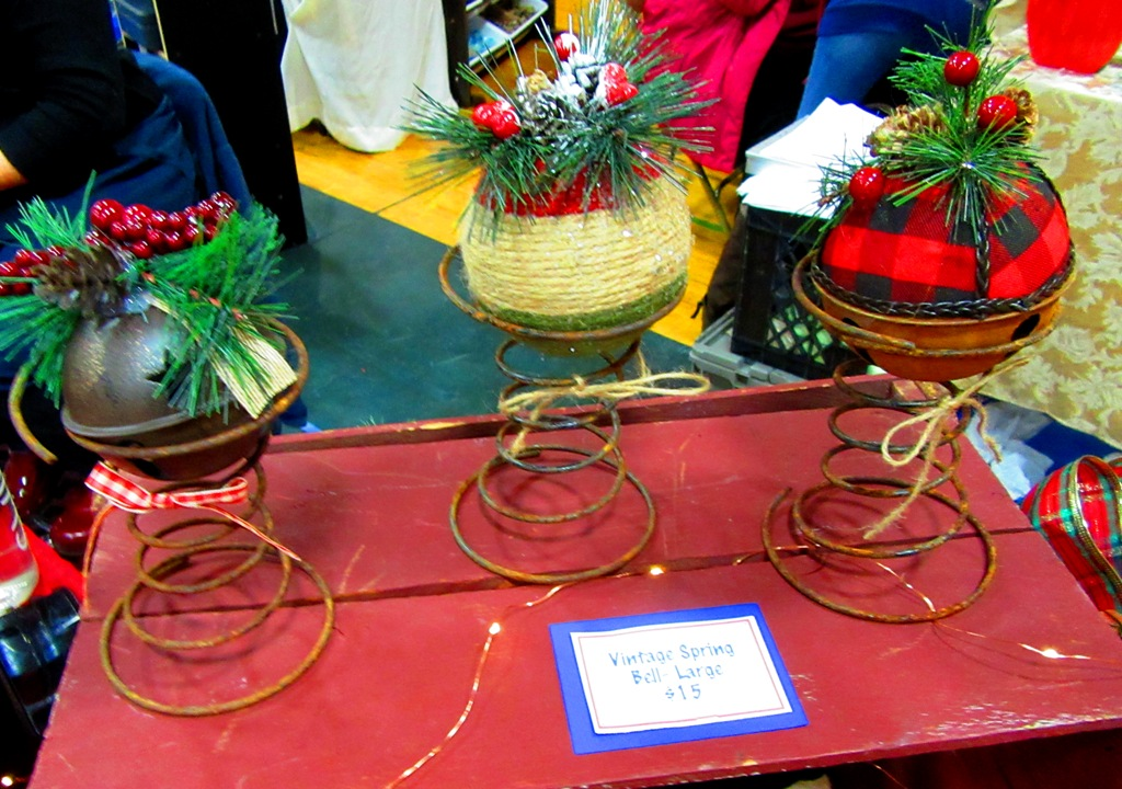Ane's vintage spring bells
