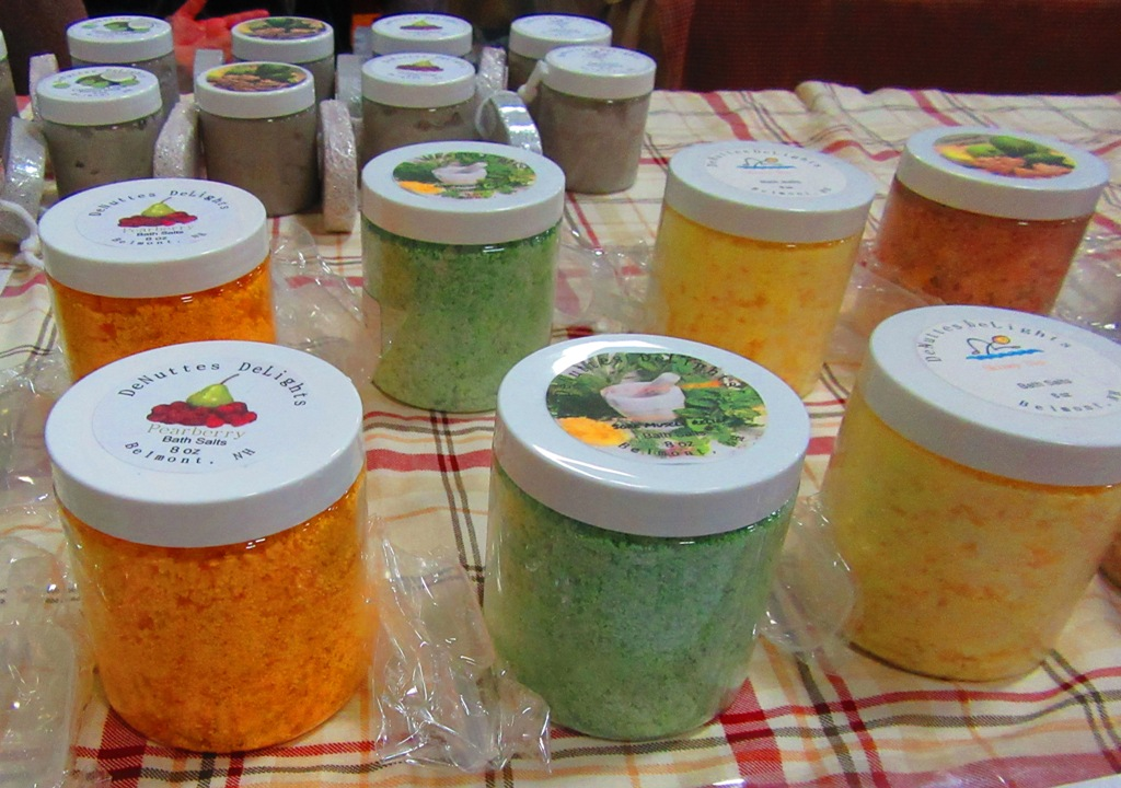 DeNutte's DeLights bath salts