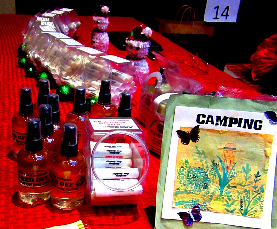 Slippery Soap Company camping must haves