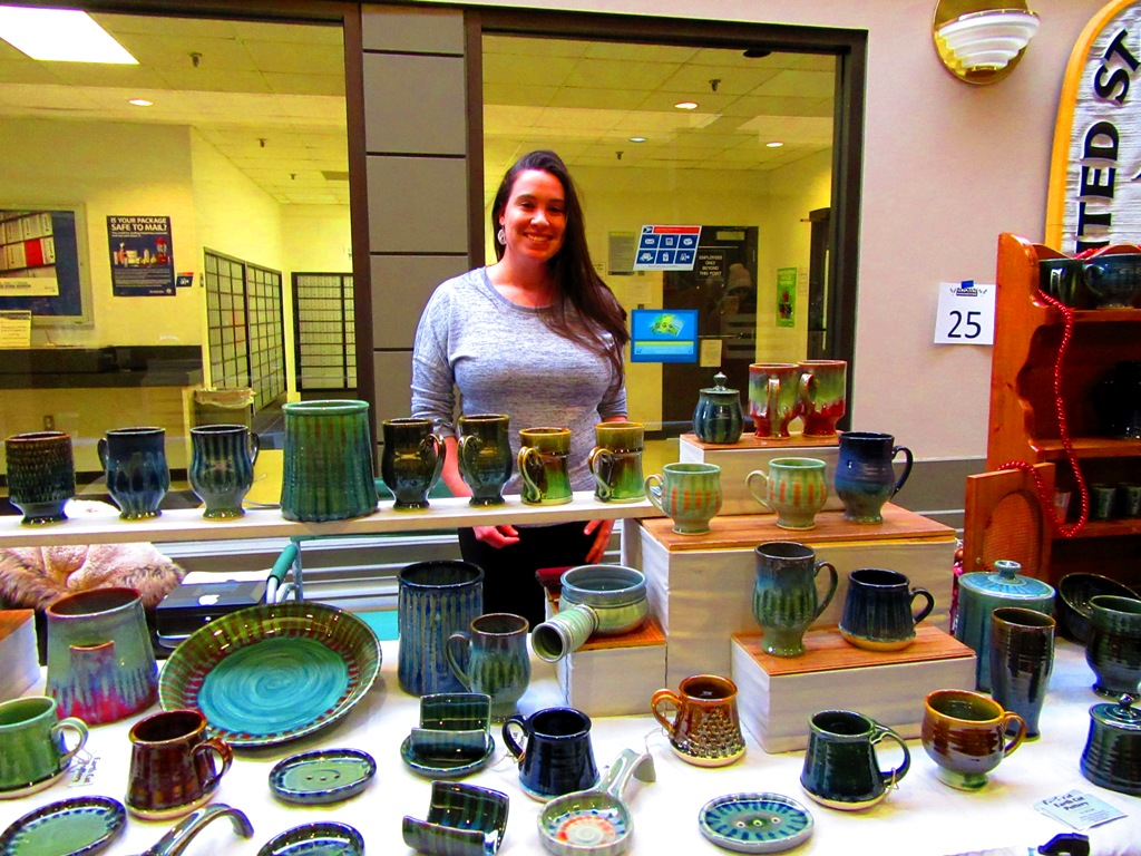 Liz from Earth Cut Pottery