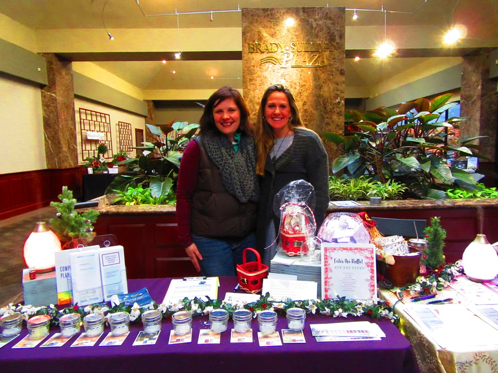 Jeanne Manney and Kim Moltisanti from Young Living Essential Oils