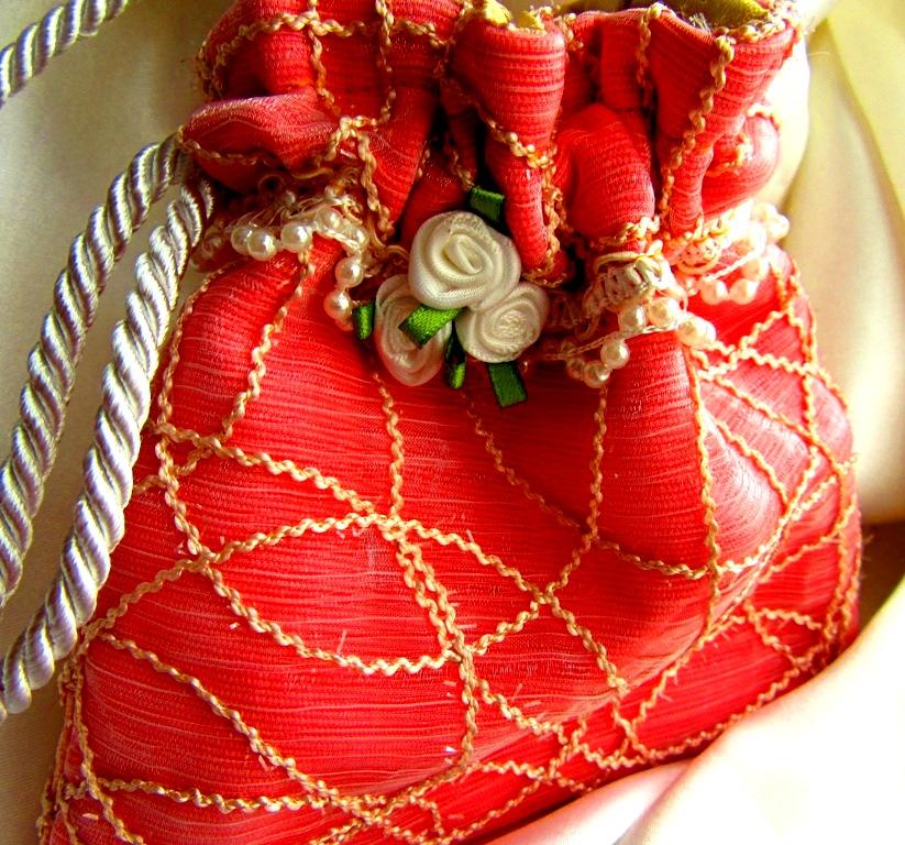 small wedding bag