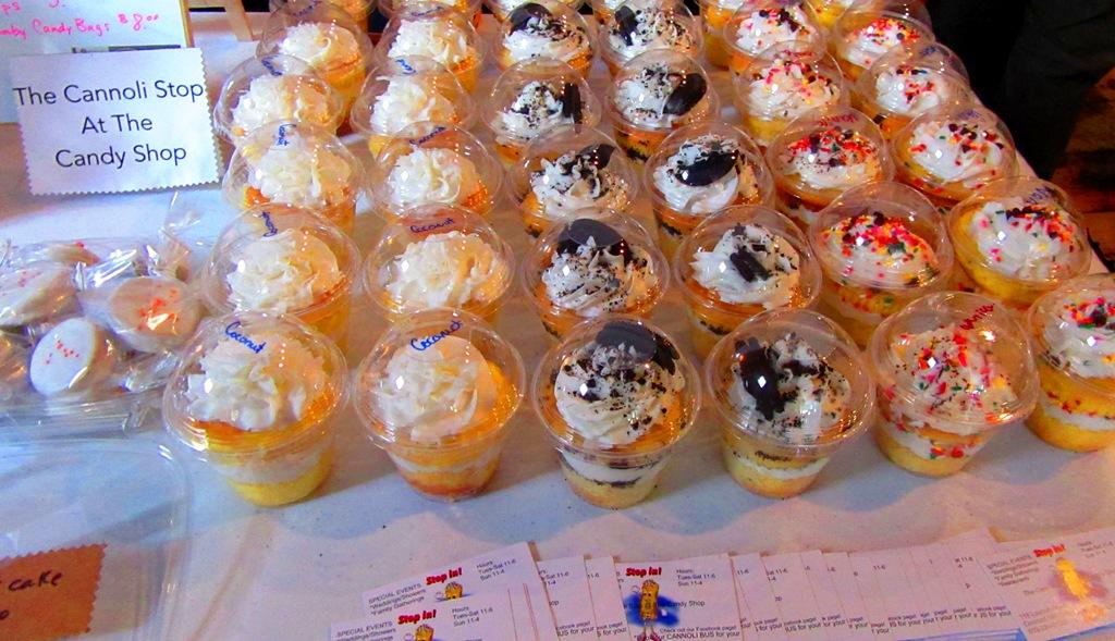 cupcake parfaits