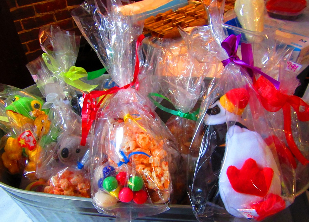 beanie baby candy bags