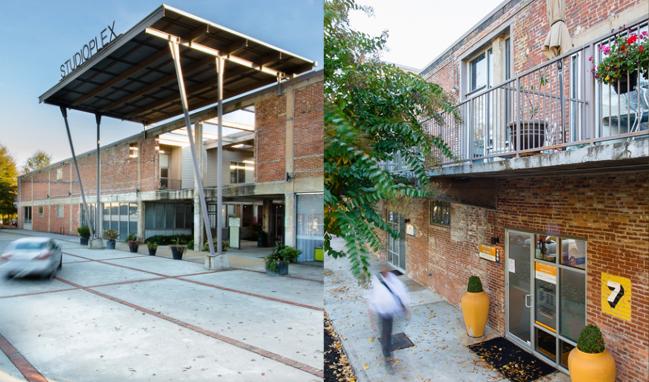 Studioplex Lofts Exterior Waterproofing