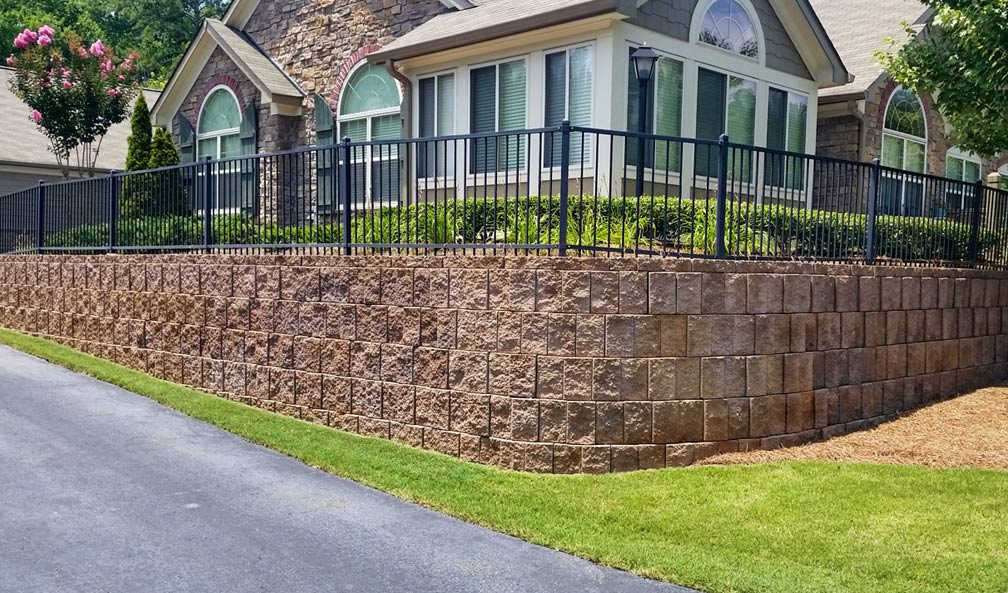 Stonebrook Commons Retaining Wall