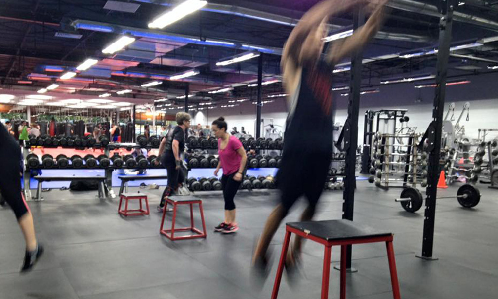 KnuckleUp Fitness Build-out