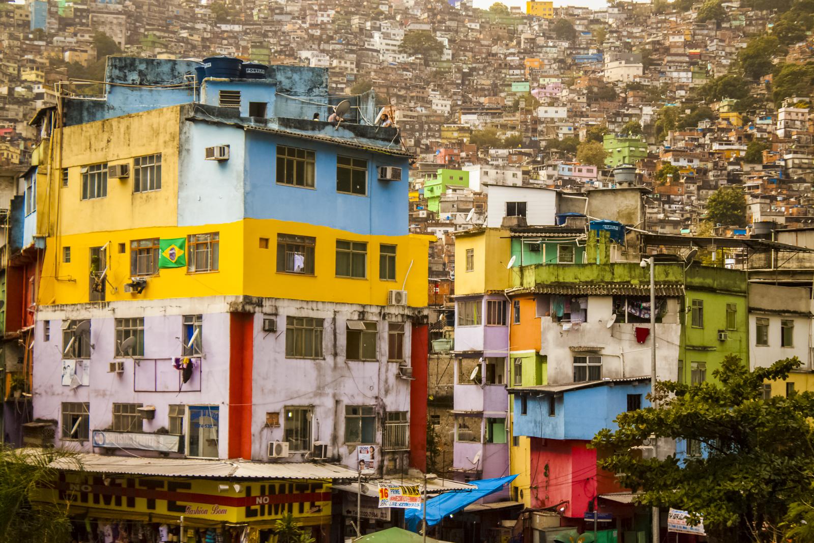 Favela da Rocinha do Brasil