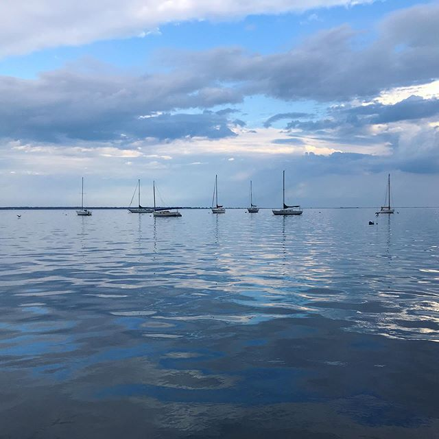 Wednesday views! 💙 #glassy #gsb #endlesssummer #wednesdayvibes #li #gusu19