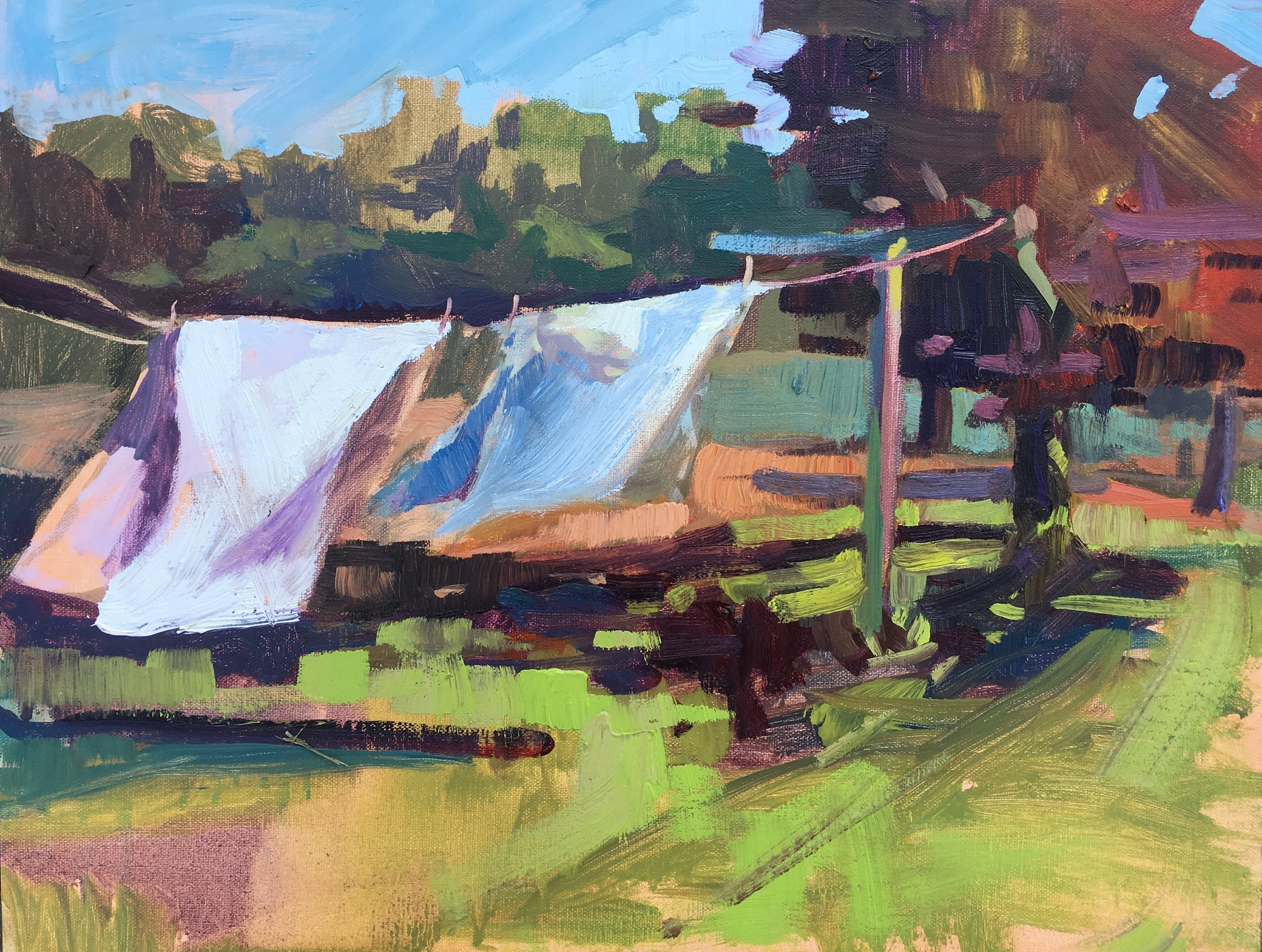 Chestertown Plein air 2017  SOLD