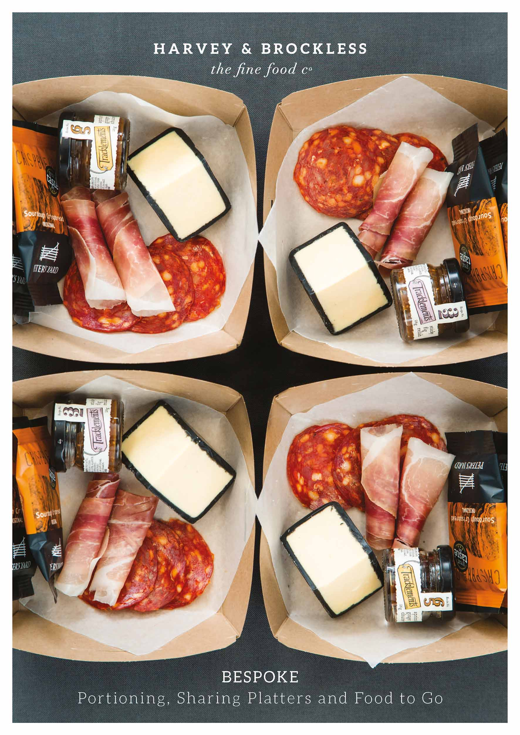 Bespoke - Portioning, Sharing Platters and Food to Go