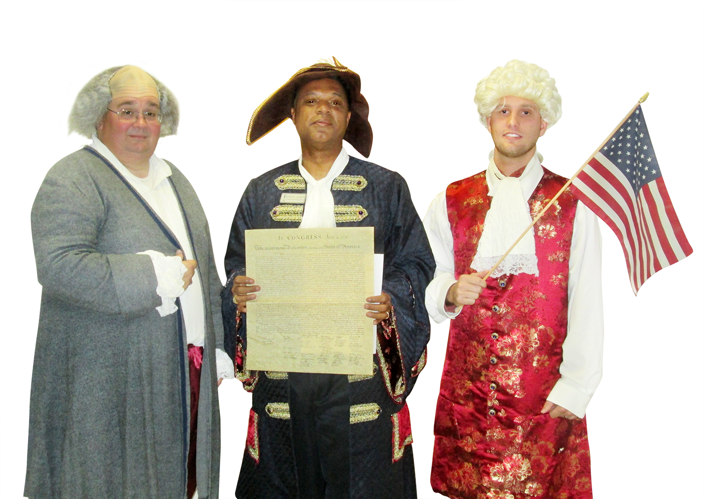 GCPS teachers go the extra mile to bring the Constitution to life.