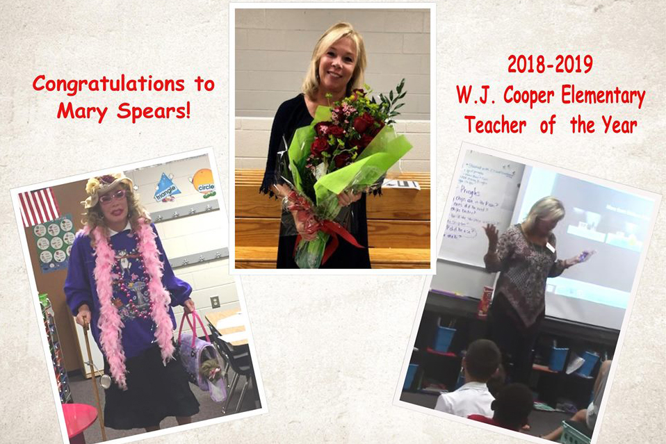 Mary Spears of Cooper ES