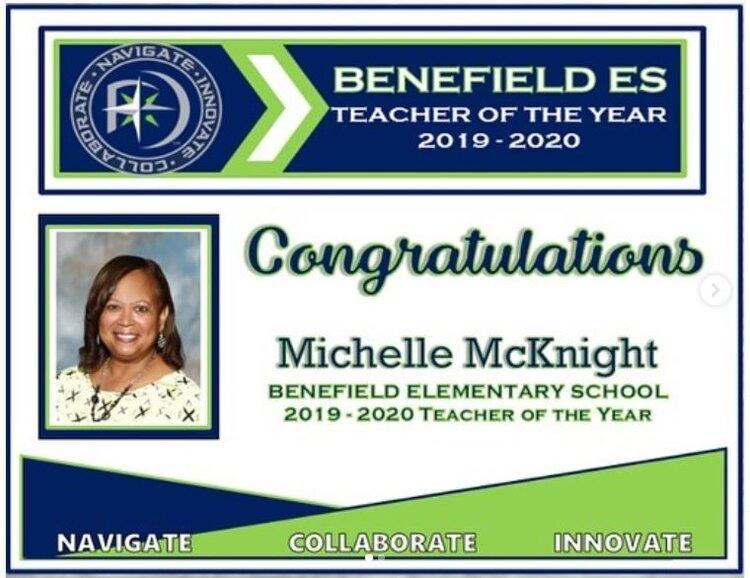 Benefield ES, Michelle McKnight