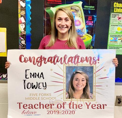 Five Forks MS, Emma Towey