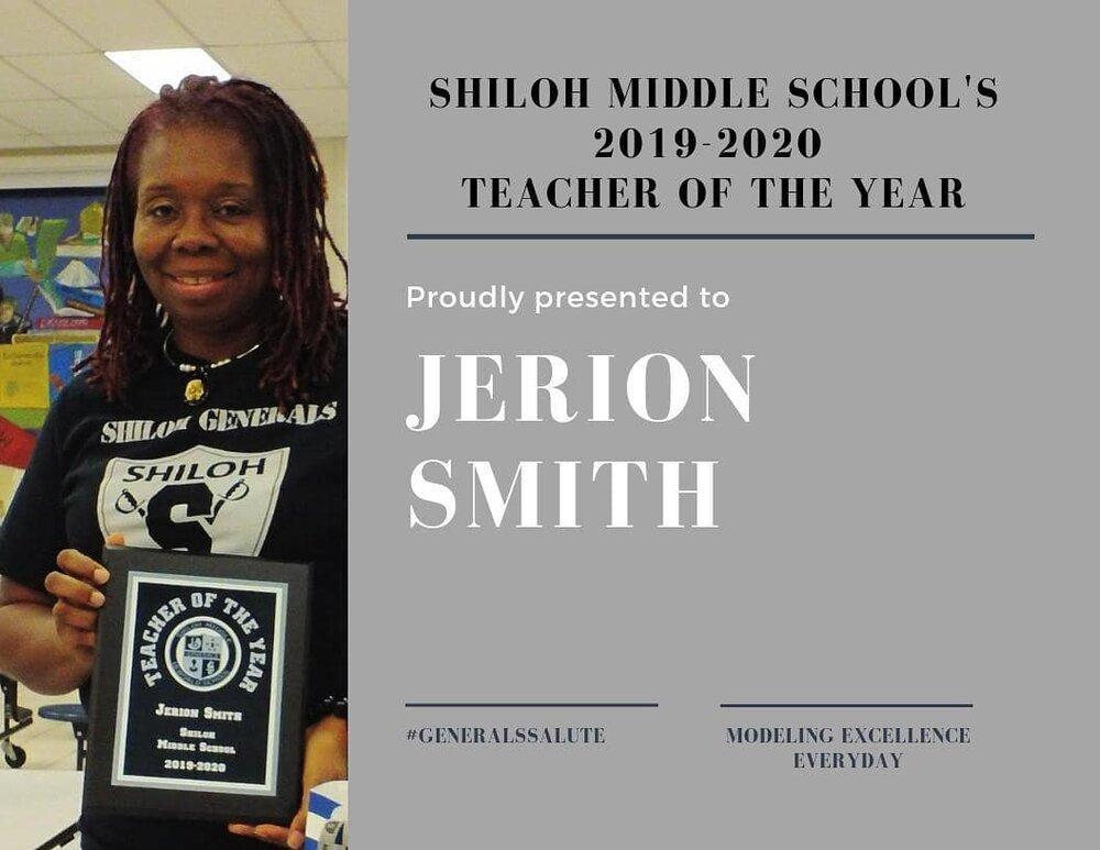Shiloh MS, Jerion Smith