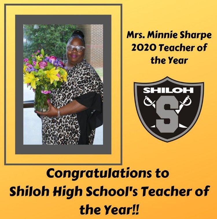 Shiloh HS, Minnie Sharpe
